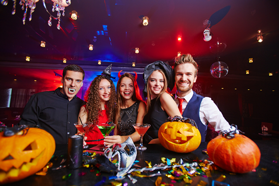 Halloween Limo Party