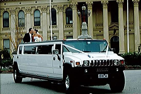 bachelor party limo