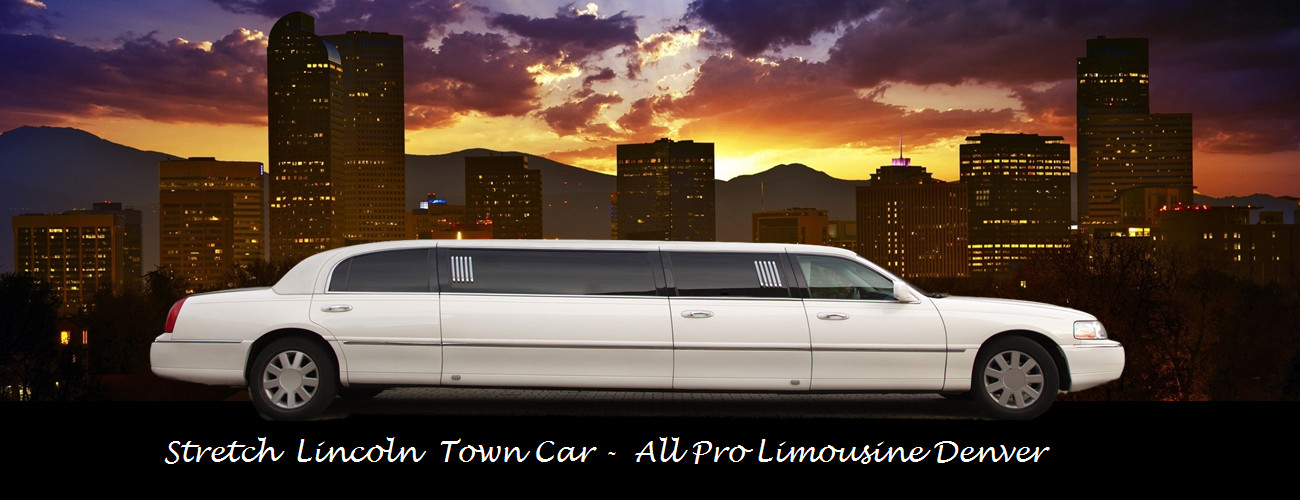 Denver Wedding Limo - All Pro Limousine Denver