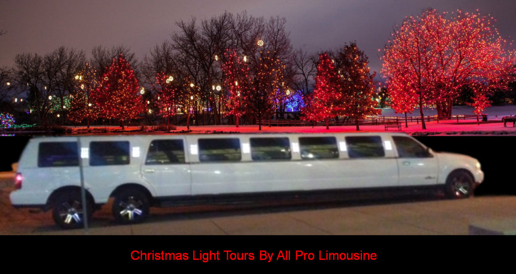 Christmas Light Tours By All Pro Limousine